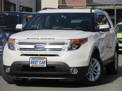 フォード エクスプローラーリミテッド 4WD 本革シート サンルーフ 3点カメラ