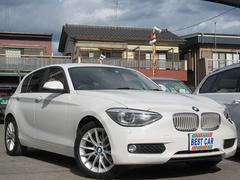 BMW116i ファッショニスタ 本革シート 純正ナビ Bカメラ
