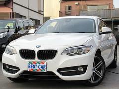 BMW220iクーペスポーツ 純正ナビ Bカメラ ETC 純正AW