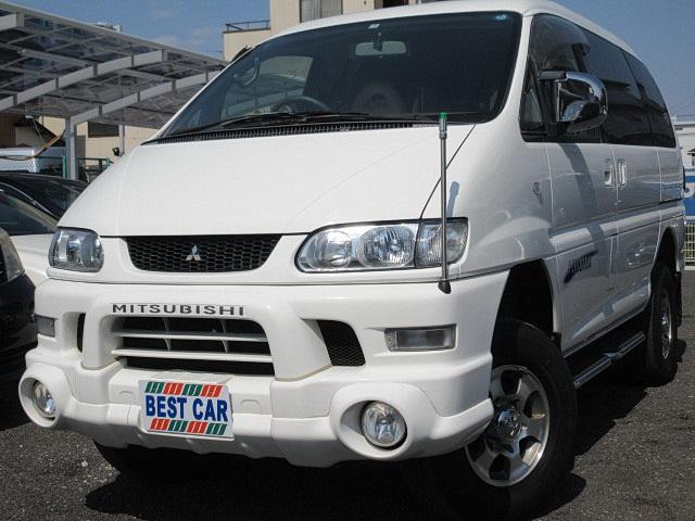 三菱 シャモニー4WD フルセグナビTV Bカメラ リフトUP