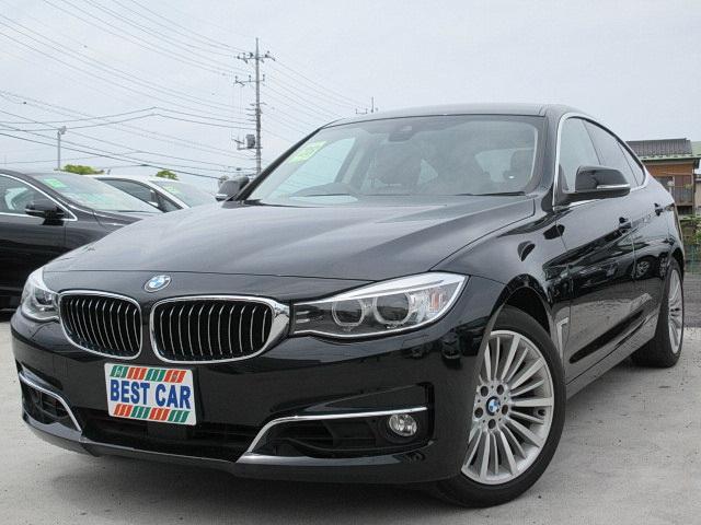 BMW 320iグランツーリスモラグジュアリー 本革 純正ナビTV