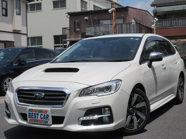 スバル 1.6GTアイサイト 4WDターボ 本革シート 純正ナビTV