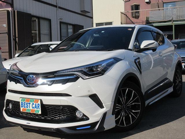 トヨタ G 革 フルセグナビTV モデリスタエアロ セーフティセンス