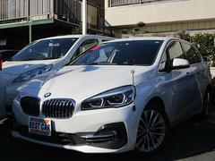 BMW218iアクティブツアラーラグジュアリー 後期 革 純正ナビ