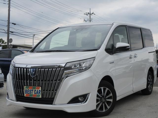 トヨタ ハイブリッドGi TSS 革シート ナビTV 両側自動ドア