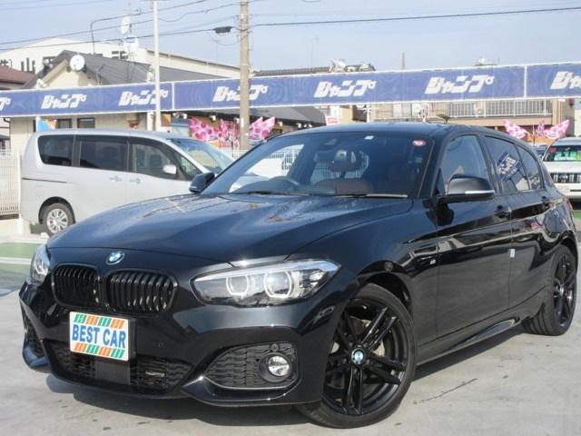 BMW 118i Mスポーツ エディションシャドー 本革シート 純正ナビ バックカメラ ETC BTオーディオ シートヒーター パワーシート LEDヘッドライト ワンオーナー
