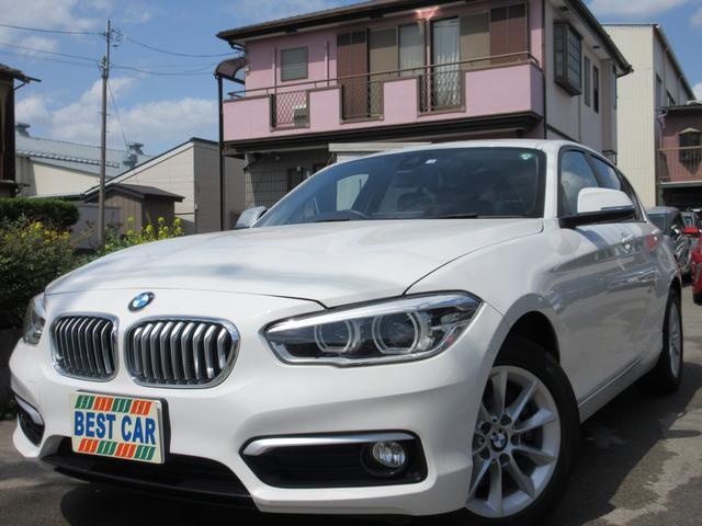 BMW 118i スタイル 禁煙車 純正HDDナビ ミュージックサーバー バックカメラ 本革シート コンフォートアクセス ブルートゥース DVD再生 ETC