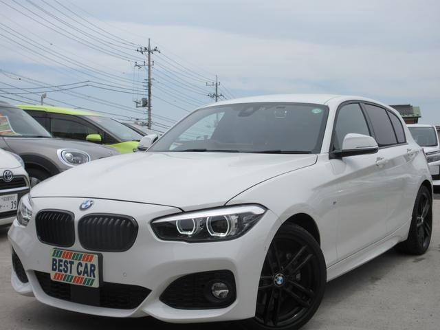 BMW 118d Mスポーツ エディションシャドー 禁煙車 本革シート 純正ナビ バックモニター Bluetoothオーディオ シートヒーター パワーシート 前後ドライブレコーダー ミラー型ETC ダークLEDヘッドライトシステム