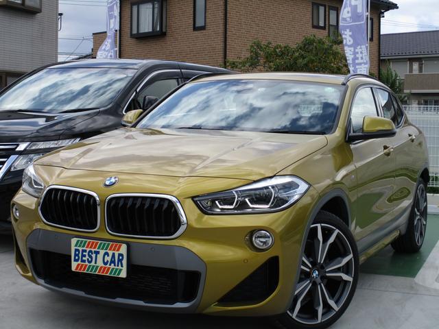 BMW xDrive 20i MスポーツX 4WD 禁煙車 黒革シート 純正ナビ バックモニター Bluetooth CD DVD再生 ミラー型ETC スマートキー スペアキー パワーシート シートヒーター LEDヘッドライトシステム