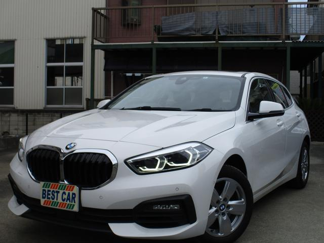 BMW 118i プレイ ハイラインパッケージ 新型 ハイラインパッケージ サンルーフ 革シート 禁煙車 純正ナビ バックモニター Bluetooth ETC クルーズコントロール スマートキー パワーシート 電動リアゲート プッシュスタート