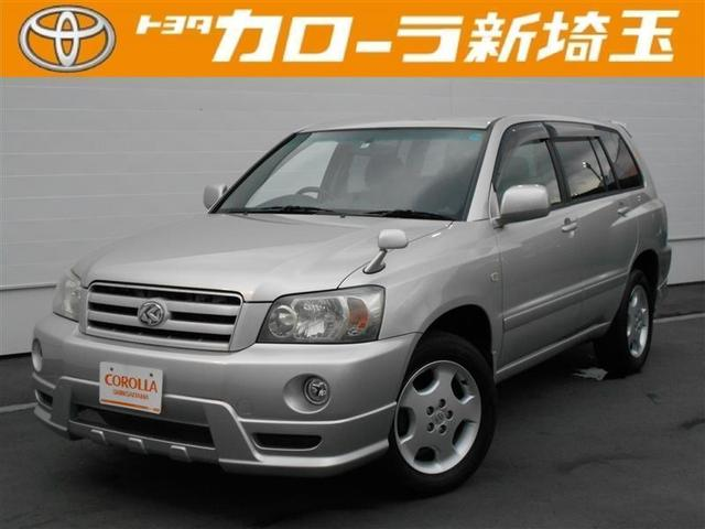 トヨタ 2.4S HDDナビ バックモニター 純正アルミ 3列シート