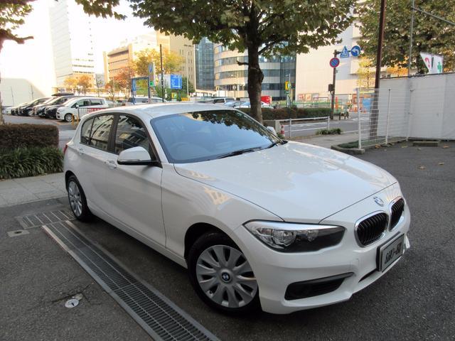 BMW 118i正規ディーラー下取車 1オーナー禁煙車 新車保証継承