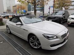 BMW650iカブリオレ 正規ディーラー下取車 1オーナー 禁煙車