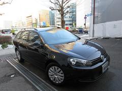VW ゴルフヴァリアントTSIトレンドライン正規ディーラー下取車 禁煙車 記録簿7枚