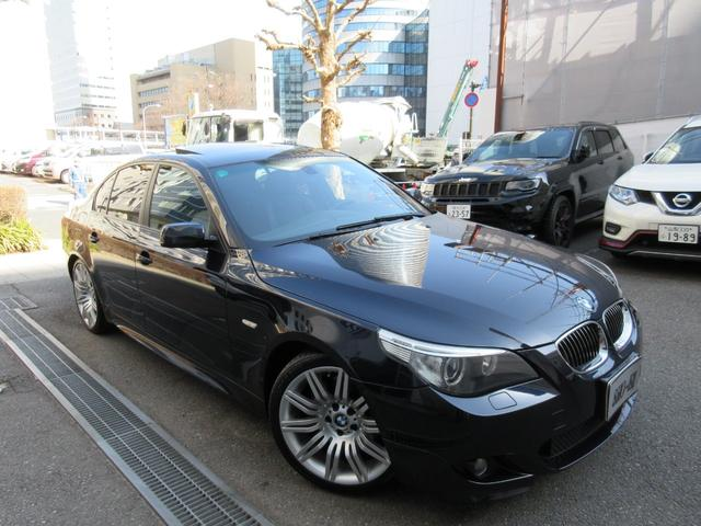 BMW 530iMスポーツパッケージ 1オーナー 禁煙車 記録簿7枚