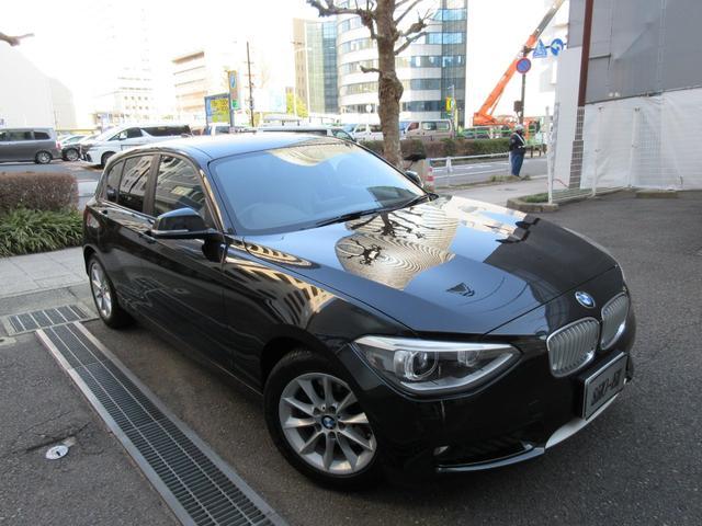 BMW 116i スタイル 正規ディーラー下取車 禁煙車 記録簿3枚