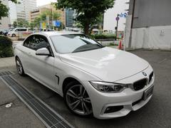 BMW435iカブリオレMスポーツ ディーラー下取車 新車保証継承