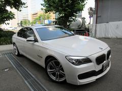 BMW740i Mスポーツ 正規ディーラー下取車 1オーナー 左H