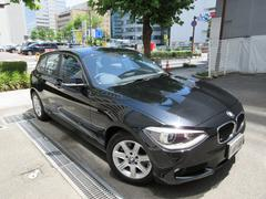 BMW116i 正規ディーラー下取車 1オーナー禁煙車 記録簿3枚