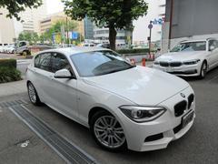 BMW116iMスポーツ 正規ディーラー下取車 禁煙車 記録簿2枚