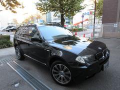 BMW X33.0iMスポーツパッケージ ディーラー下取車 茶本革 SR