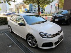 VW ゴルフR 正規ディーラー下取車 1オーナー 禁煙車 D記録簿5枚有
