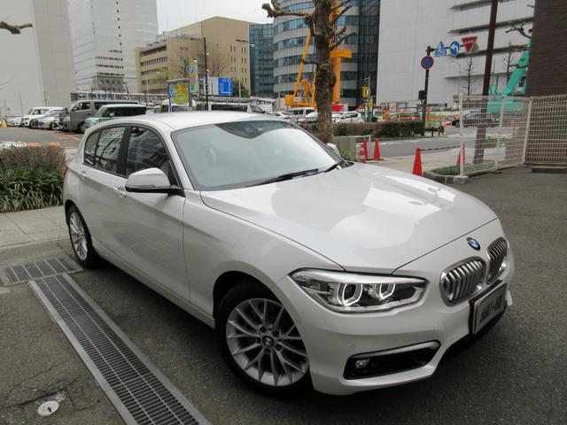 BMW 118dファッショニスタ ディーラー入庫車 禁煙車 保証継承