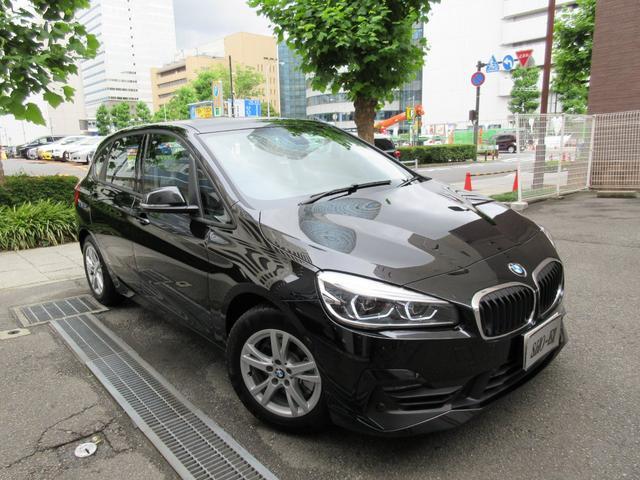 BMW 218dアクティブツアラー正規ディーラー入庫車 新車保証継承