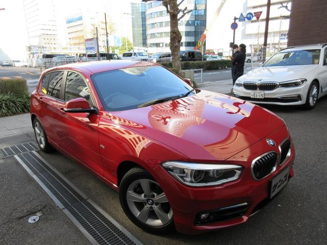 BMW 118d スポーツ 正規ディーラー下取車 1オーナー 禁煙車