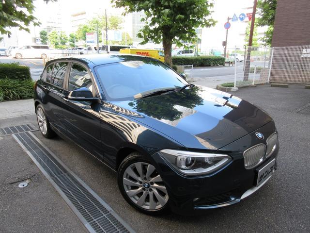 BMW 1シリーズ 120i スタイル 正規ディーラー下取車 禁煙車 記録簿付き