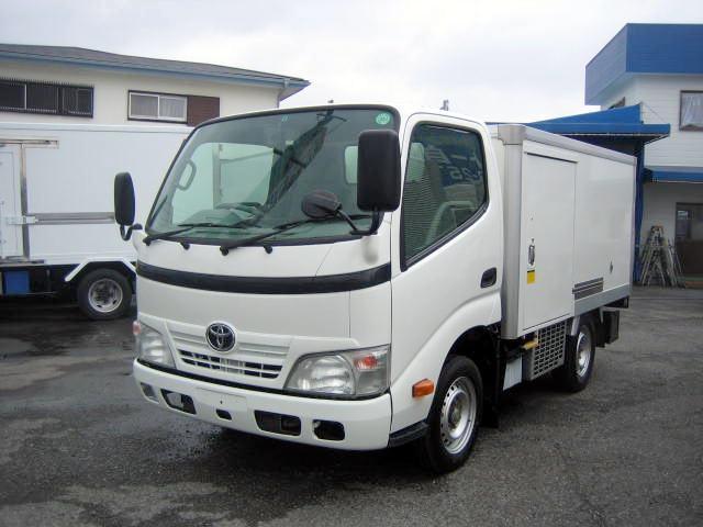 トヨタ 冷蔵冷凍車 低温冷凍車 4ナンバーサイズ冷凍車