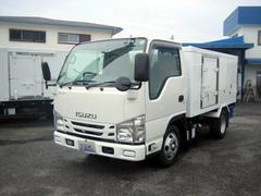 エルフトラック冷蔵冷凍車 低温冷凍車 4ナンバーサイズ冷凍車 スタンバイ付
