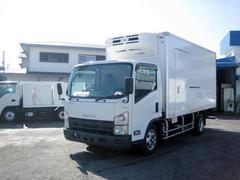 エルフトラック冷蔵冷凍車 低温冷凍車 ワイドロング付冷凍車