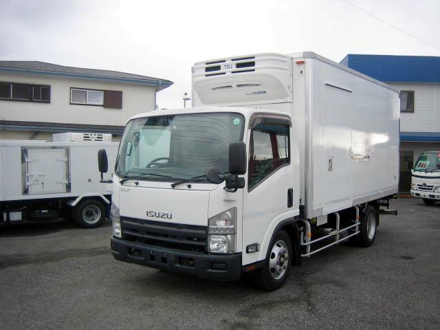 いすゞ 冷蔵冷凍車 低温冷凍車 ワイドロング冷凍車