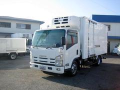エルフトラック冷蔵冷凍車 低温冷凍車 格納パワーゲート冷凍車