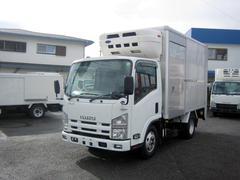エルフトラック冷蔵冷凍車 中温冷凍車 パワーゲート付冷凍車