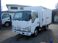 エルフトラック冷蔵冷凍車 低温冷凍車 2室仕様冷凍車