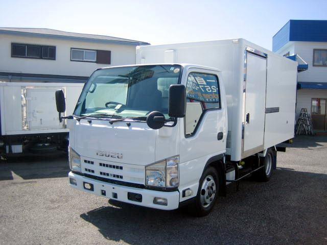 いすゞ 冷蔵冷凍車 低温冷凍車 2室仕様冷凍車