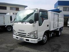 エルフトラック冷蔵冷凍車 低温冷凍車 4ナンバーサイズ冷凍車