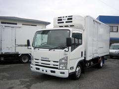 エルフトラック冷蔵冷凍車 中温冷凍車 ワイドロング冷凍車