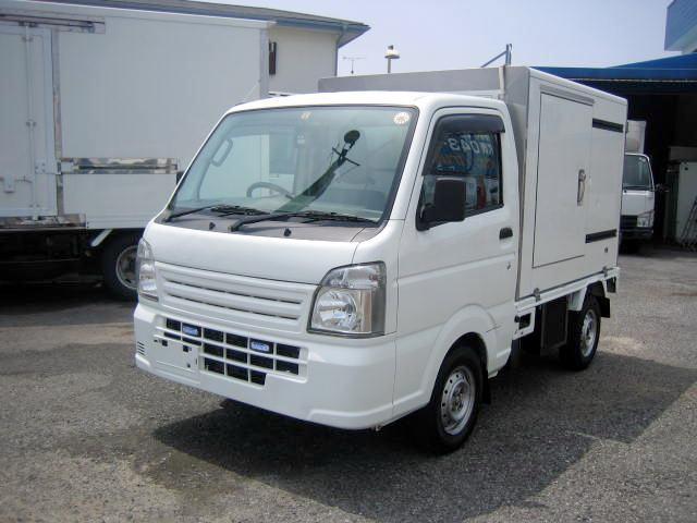 スズキ 冷蔵冷凍車 低温冷凍車 -20度設定冷凍車
