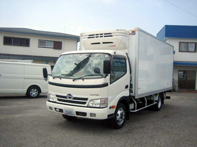 日野 冷蔵冷凍車 低温冷凍車 3t積載冷凍車
