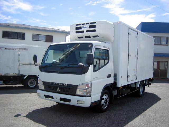 三菱ふそう 冷蔵冷凍車 中温冷凍車 パワーゲート付冷凍車