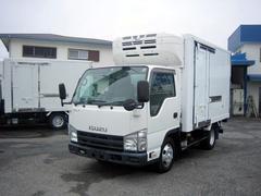 エルフトラック冷蔵冷凍車 低温冷凍車 スタンバイ付冷凍車