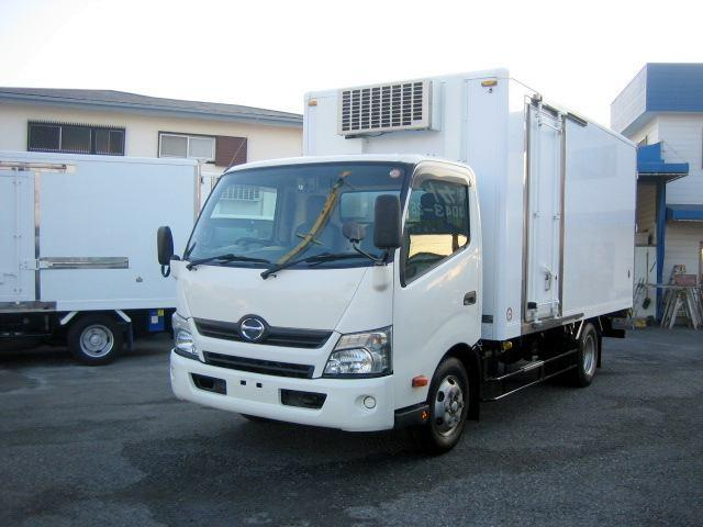 日野 冷蔵冷凍車 低温冷凍車 2室仕様冷凍車