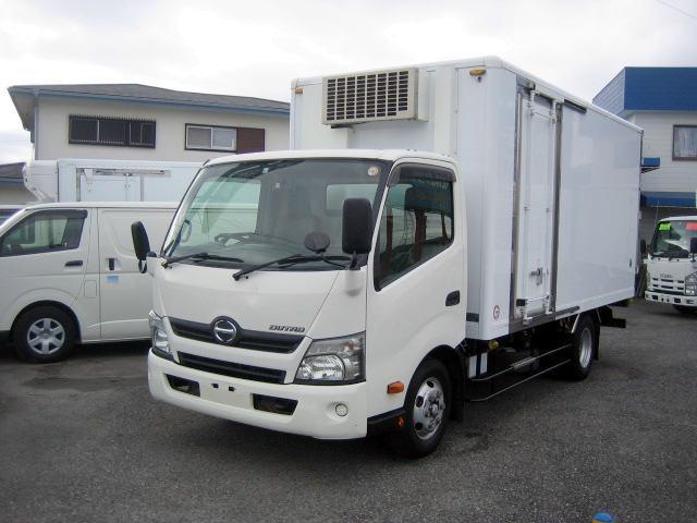 日野 冷蔵冷凍車 低温冷凍車 ワイドロング冷凍車