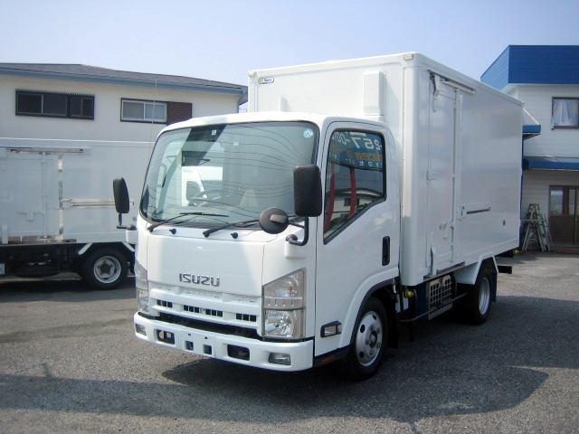 いすゞ 冷蔵冷凍車 低温冷凍車 セミロング冷凍車