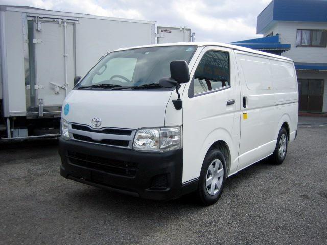 トヨタ ハイエースバン 冷蔵冷凍車 低温冷凍車 −22度設定冷凍...