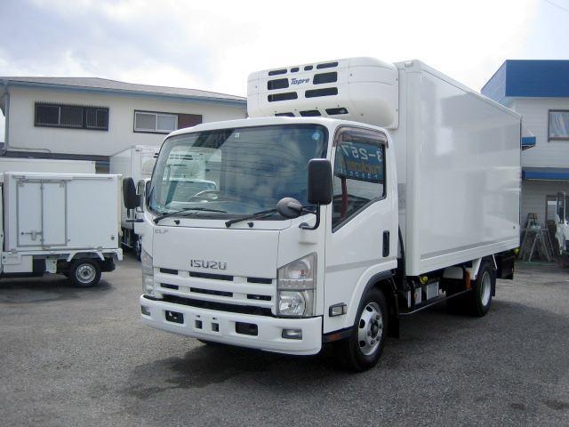 いすゞ 冷蔵冷凍車 中温冷凍車 ワイドロング冷凍車