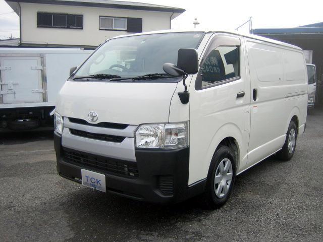 トヨタ 冷蔵冷凍車 低温冷凍車 -22度設定冷凍車 最終型
